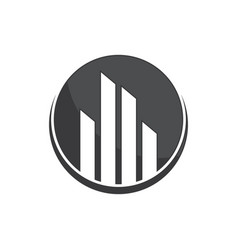 Real estate logo concept image vector
