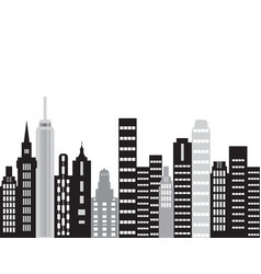 The city building vector