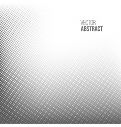 Abstract spotted halftone background vector