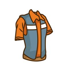 construction worker vest vector image