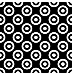 Polka dot geometric seamless pattern 1312 vector