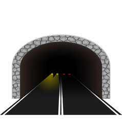 Road tunnel 03 vector