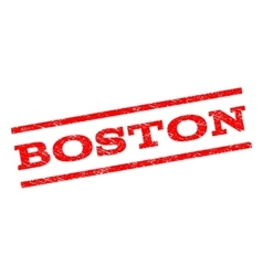 Boston watermark stamp vector