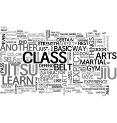 What to expect in jiu jitsu text word cloud vector