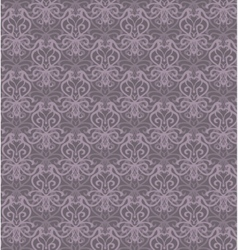 Intricate violet grey luxury seamless pattern on vector