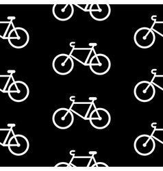 Bike symbol seamless pattern vector