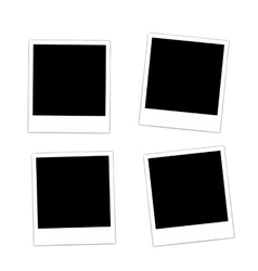 Collection photo frame vector