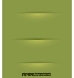 banner2 vs vector image vector image
