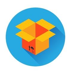 Box delivery icon vector
