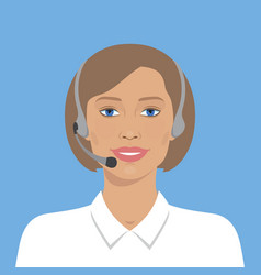 Call center operator vector