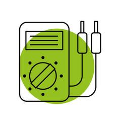 Car battery tester appliance measure power vector