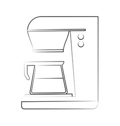 Coffee maker beverage icon image vector