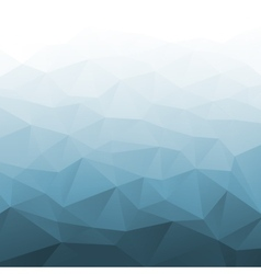 Abstract gradient blue geometric background vector