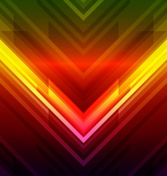 modern arrow background vector image