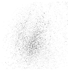 Grainy texture on a white square vector image