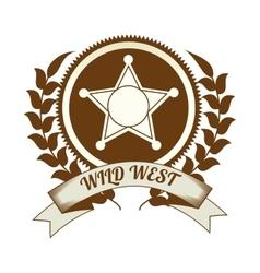 Wild west culture vector