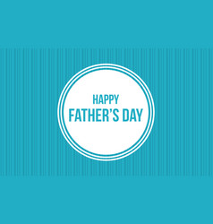 Banner style for father day collection vector