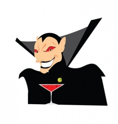 cartoon phantom vector image