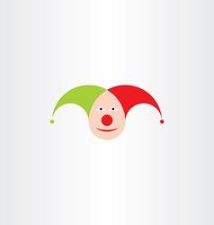 Jester head icon symbol vector