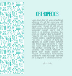 Orthopedic and trauma rehabilitation concept vector