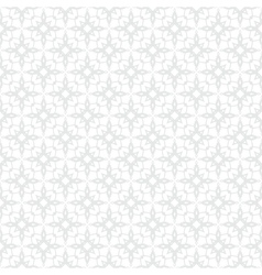 White and silver geometric texture in art deco vector
