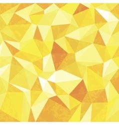 Yellow mosaic background vector