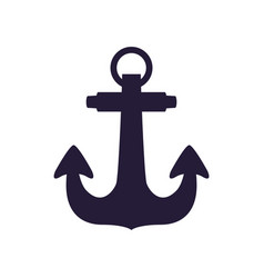 Anchor nautical object vector