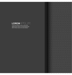 Blank with dark background and uniform texture vector