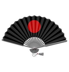 Folding Fan vector image