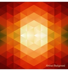 Abstract triangles pattern background can be used vector