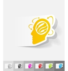 Realistic design element idea concept vector