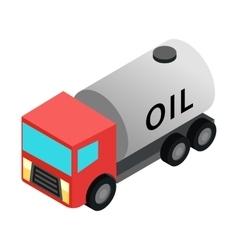 Machine oil isometric 3d icon vector image