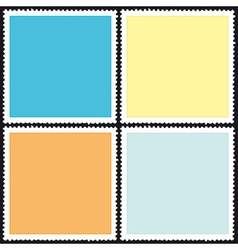 Postage stamp icon vector image