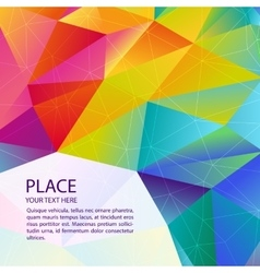 Abstract background design technology vector image vector image