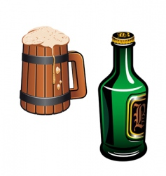German beer vector image