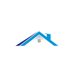 house logo template vector image vector image