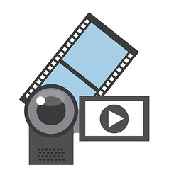 Video marketing design vector