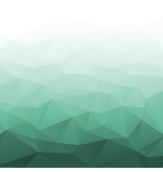 Abstract gradient green geometric background vector