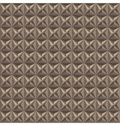 light brown triangle texture vector image vector image