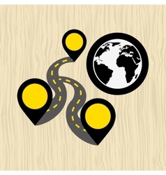 Global positioning system design vector