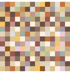 Retro seamless pattern in pixel style vector