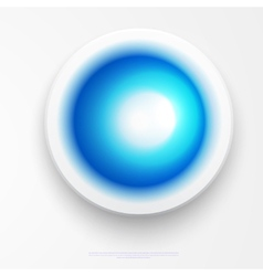 Circle of blank rectangle labels with blue vector image