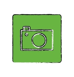 Photographic camera media vector