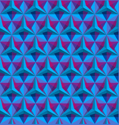 Triangular geometric seamless pattern vector