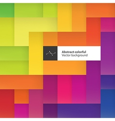 Color squares abstract geometric colorful vector