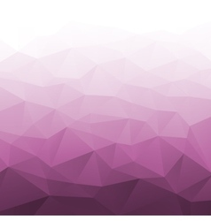 Abstract gradient pink geometric background vector