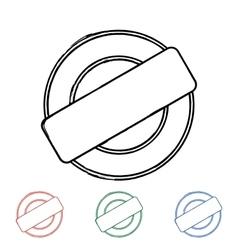 Grunge stamp vector