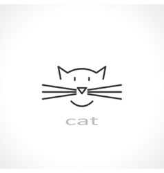 cat symbol vector image
