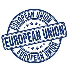 European union stamp vector