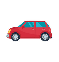 hatchback automobile icon vector image